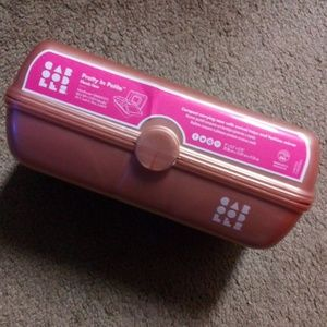 Caboodles Bags - CABOODLES (rose gold) Pretty in Petite Case NEW
